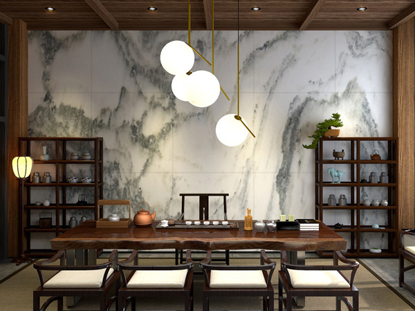 新中式茶居会所设计