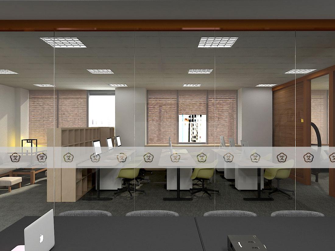 新中式办公室设计