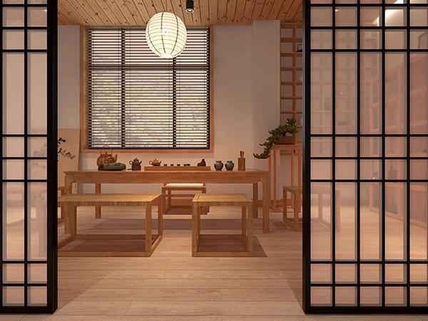 北欧原木风格空间设计
