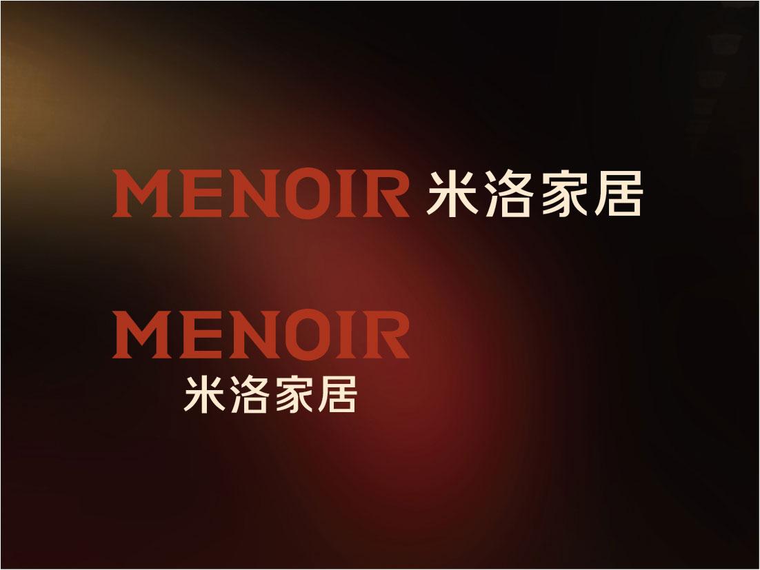 menoir家居品牌字体设计02