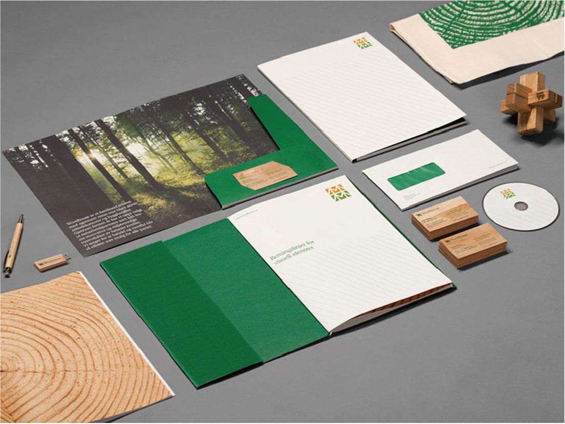 森林卧室家居VI设计